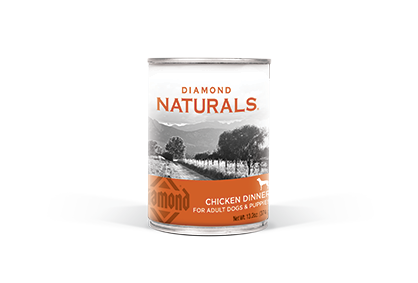Diamond Naturals Chicken Dinner All Life Stages Canned Dog Food