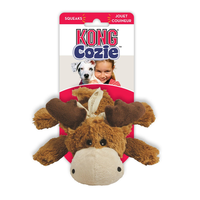 KONG Cozie Marvin Moose Dog Toy