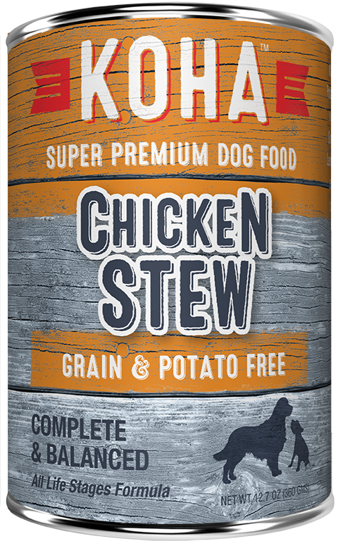 KOHA Grain & Potato Free Chicken Stew Canned Dog Food