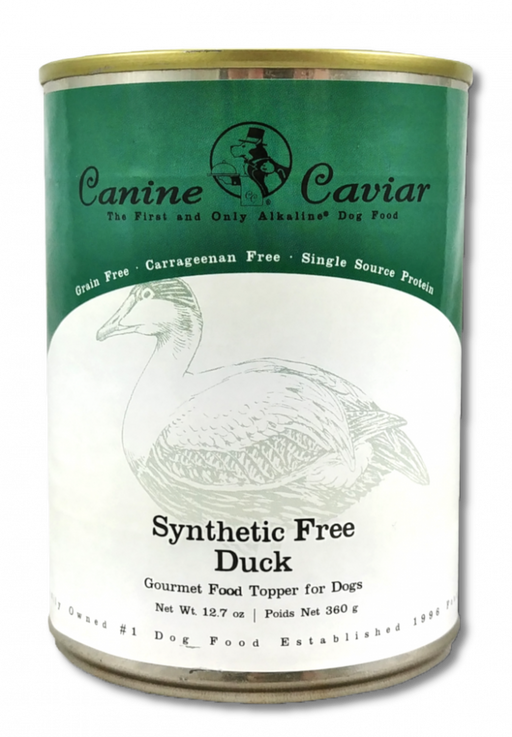 Canine Caviar Grain Free Synthetic Free Duck Recipe Canned Dog Food