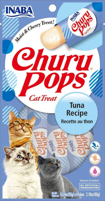 Inaba Churu Pops Tuna Recipe Cat Treats