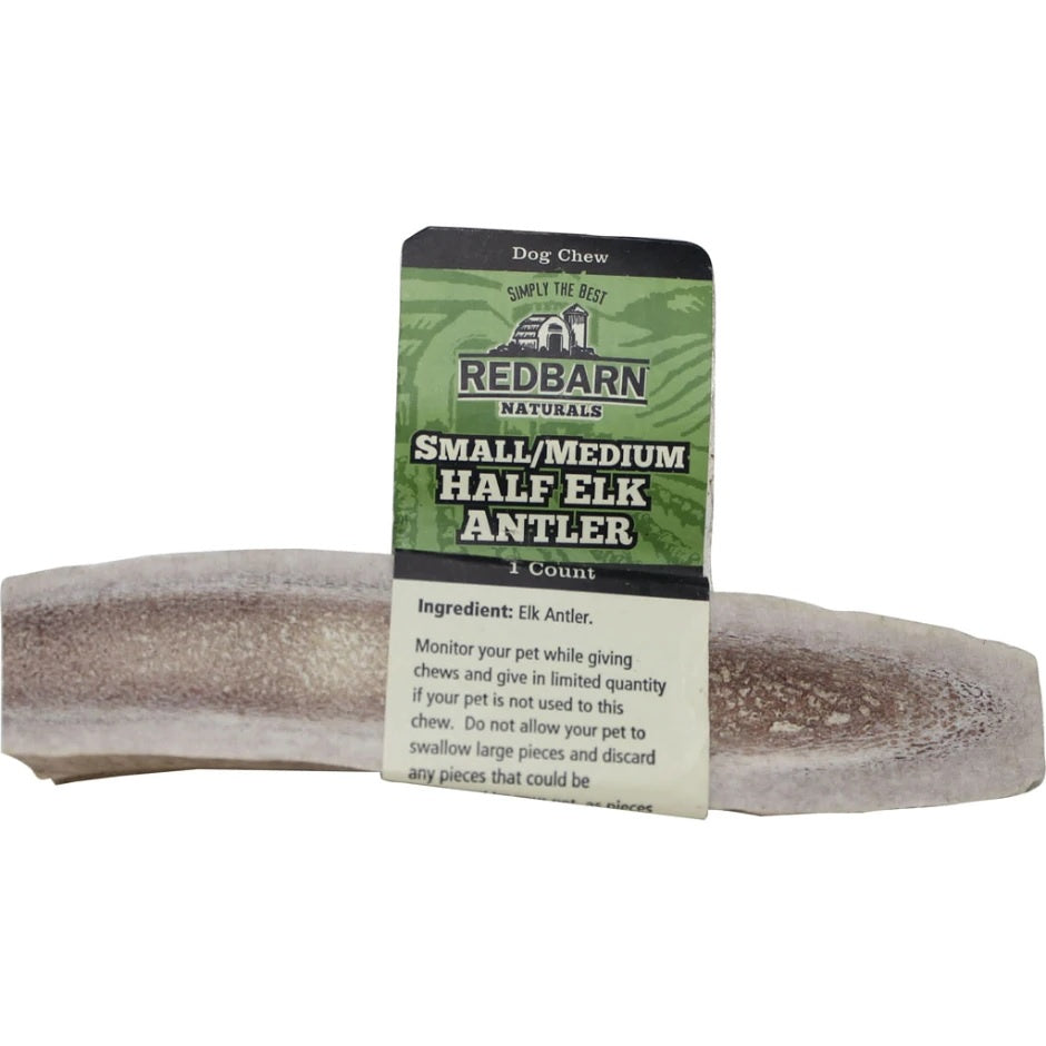 Redbarn Half Elk Antler Dog Treat