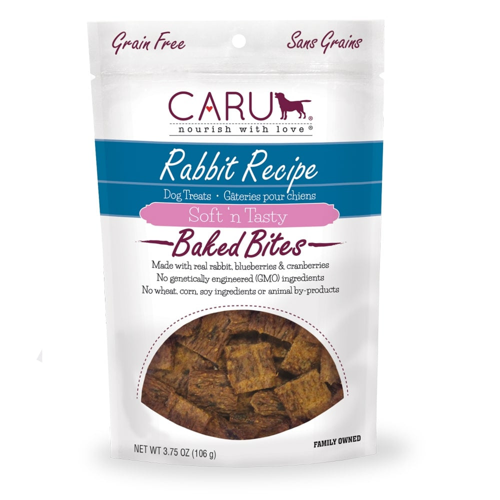 Caru Soft 'n Tasty Rabbit Recipe Bites For Dogs