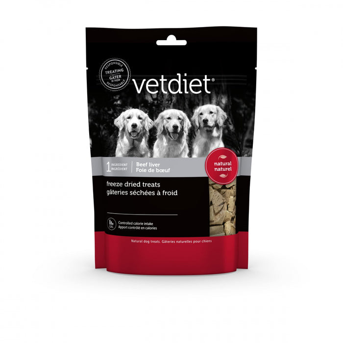 Vetdiet Freeze Dry Beef Liver Dog Treat