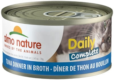 Almo Nature Daily Complete Cat Tuna in Broth Canned Cat Food