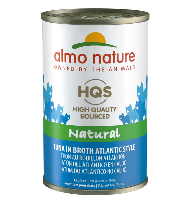 Almo Nature HQS Natural Cat Grain Free Additive Free Atlantic Style Canned Cat Food