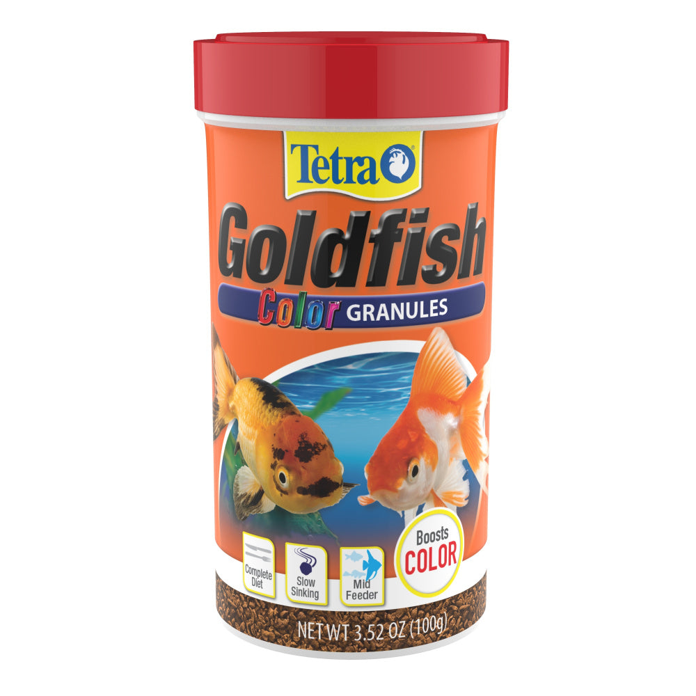 Tetra Color Sinking Granules Goldfish Food