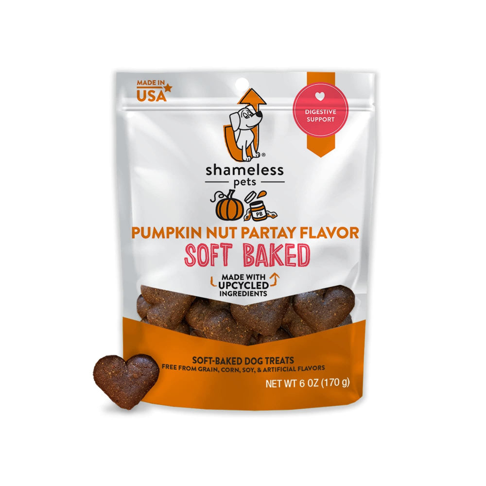 Shameless Pets Pumpkin Nut Par-Tay Soft-Baked Dog Treats