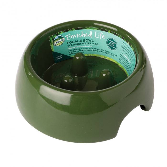 Oxbow Animal Health Enriched Life Forage Bowl