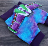 R22- Purple Space Print