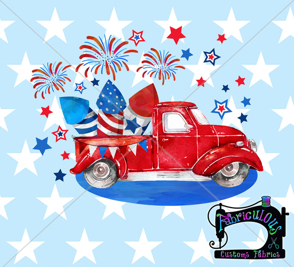 R13- Patriotic Truck- Shirt Panels