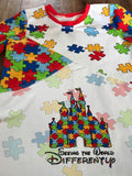 R14 - Autism Awareness- Scattered Print