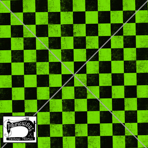 R24-  Green Checks Print
