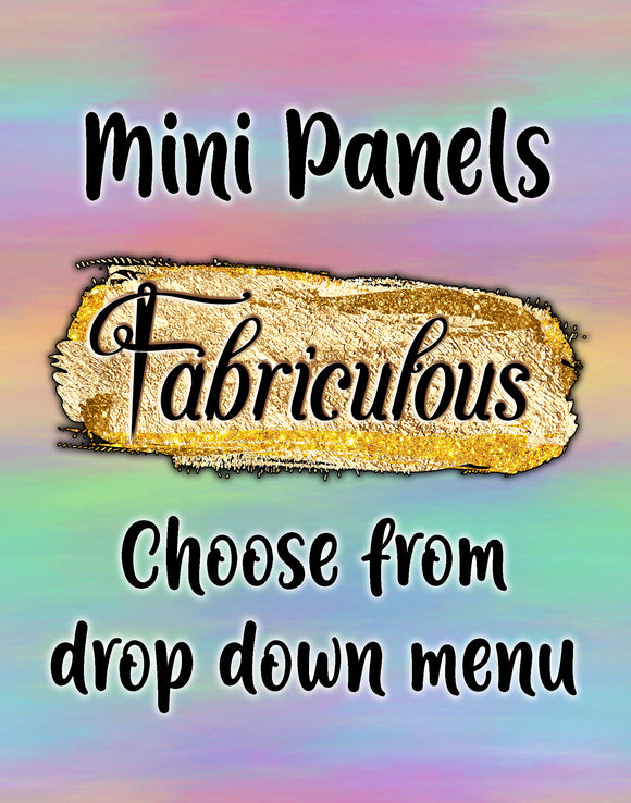 Faves- WOVEN- mini panel
