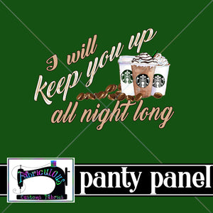 R17- PANTY PANEL- Keep You Up