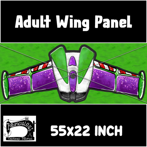 R22- Adult Spaceman Wing Panel