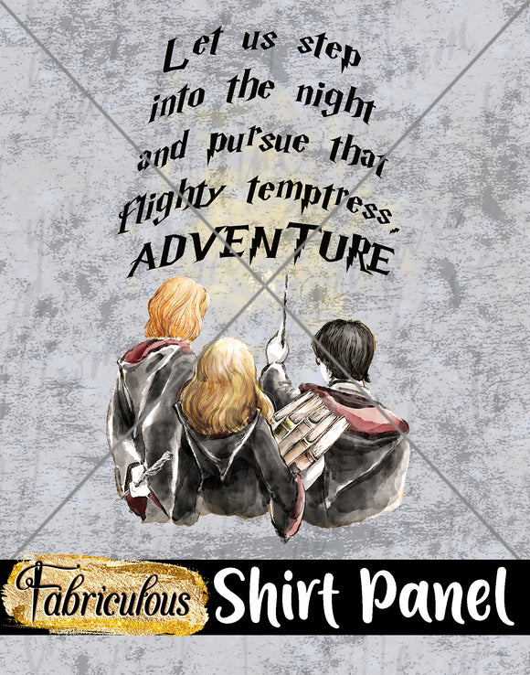 Faves- Adventure Shirt Panel