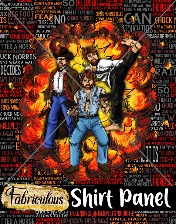 Faves- Chucksplosion Shirt Panel