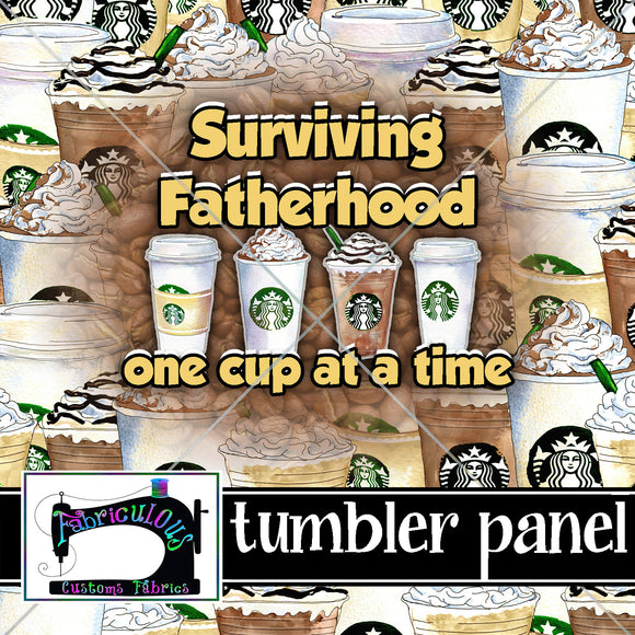 R17- Tumbler Panel - Sepia Fatherhood