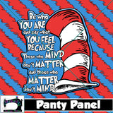 R20 - Blue Be You Diaper/Panty Panel