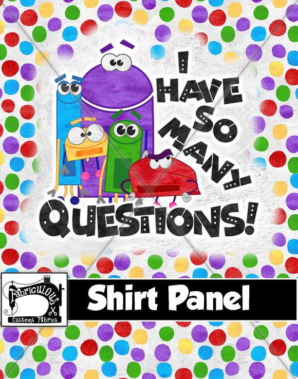 R28- Story Questions Shirt Panel