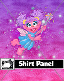 R28- Fairy Monster Shirt Panel