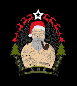 R8- TATTED SANTA - Shirt Panels
