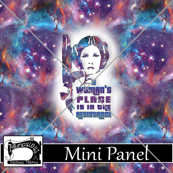R24- Resist- Mini Panel (NEW!!)
