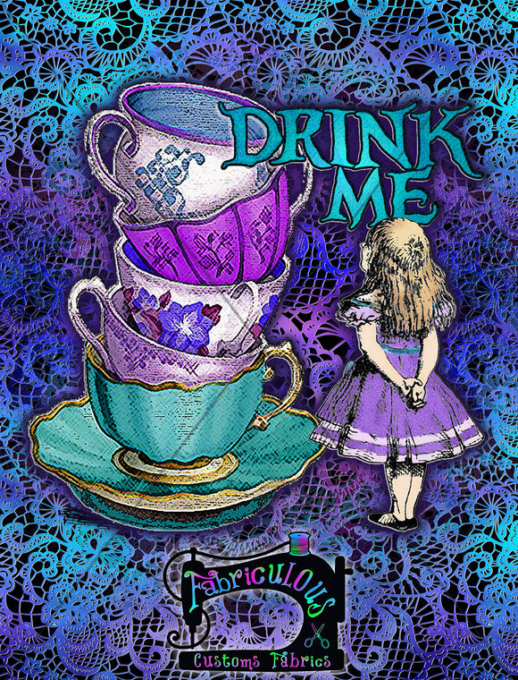 R15 - Purple Drink Me- Shirt panel