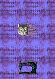 R15 - Purple Cat- Shirt panel
