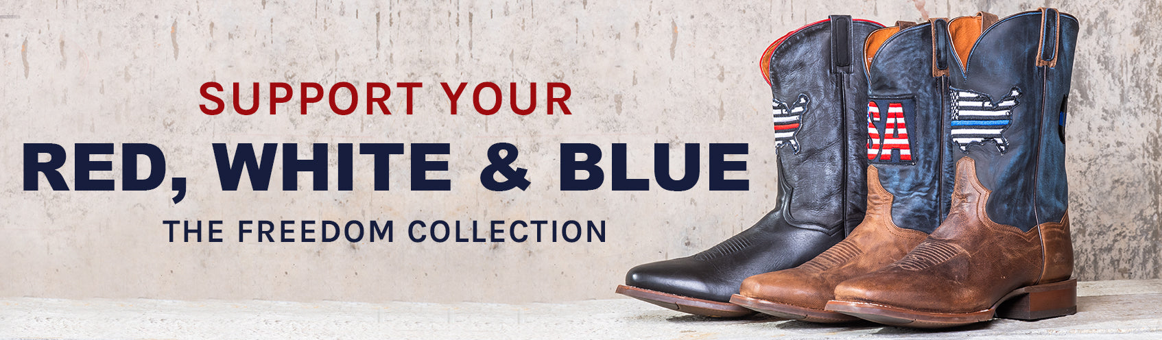 02fd3e2a6bd The Freedom Collection – Dan Post Boots