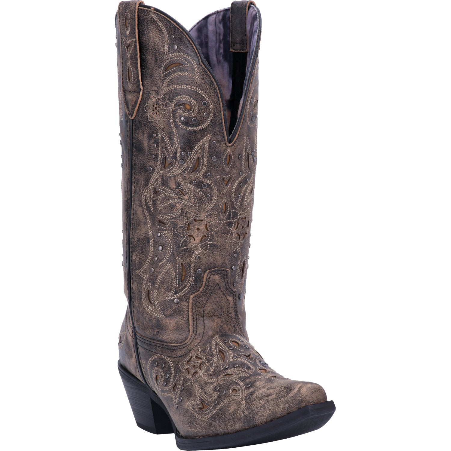 VANESSA WIDE CALF LEATHER BOOT 4197262065706
