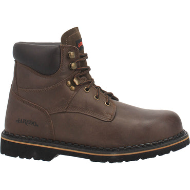 Angle 2, 6 INCH STEEL TOE LEATHER BOOT