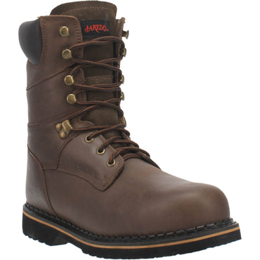 Angle 1, 8 INCH LACE-UP STEEL TOE LEATHER BOOT