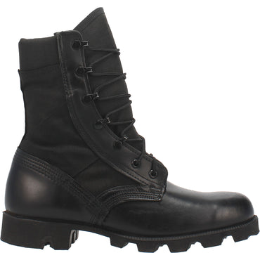 Hot Weather All Black Jungle Boot with Panama Outsole - Dan Post Boots