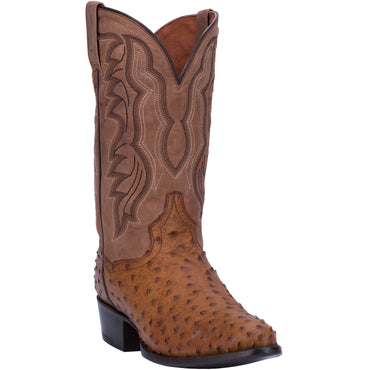 Angle 1, TEMPE FULL QUILL OSTRICH BOOT