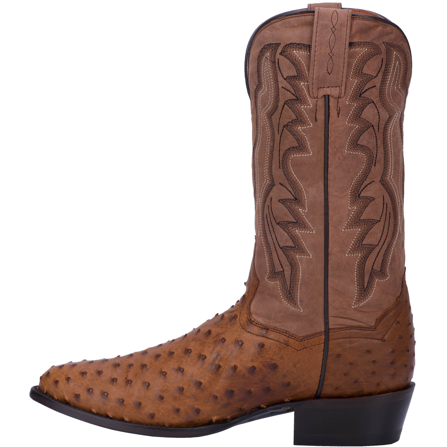 TEMPE FULL QUILL OSTRICH BOOT