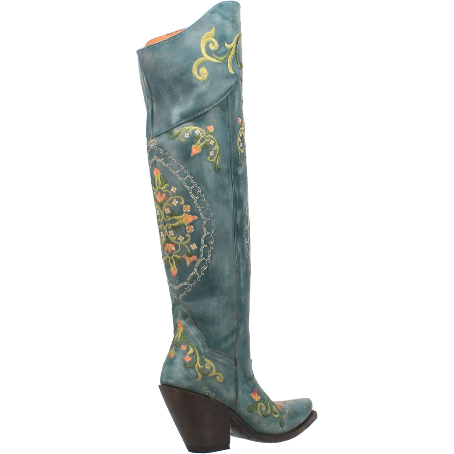 FLOWER CHILD LEATHER BOOT 15267551346730