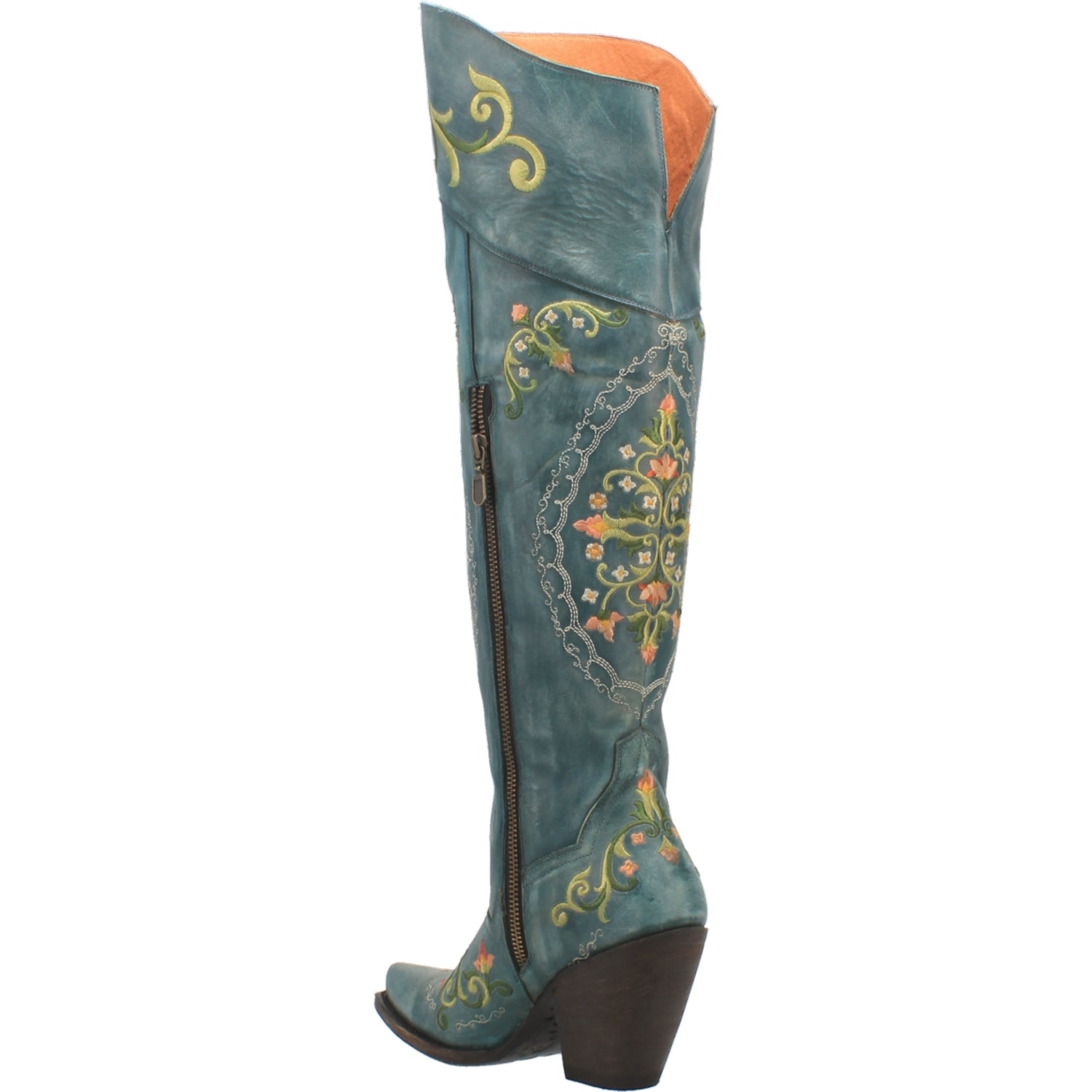 FLOWER CHILD LEATHER BOOT 15267551674410