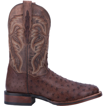 Angle 2, ALAMOSA FULL QUILL OSTRICH BOOT