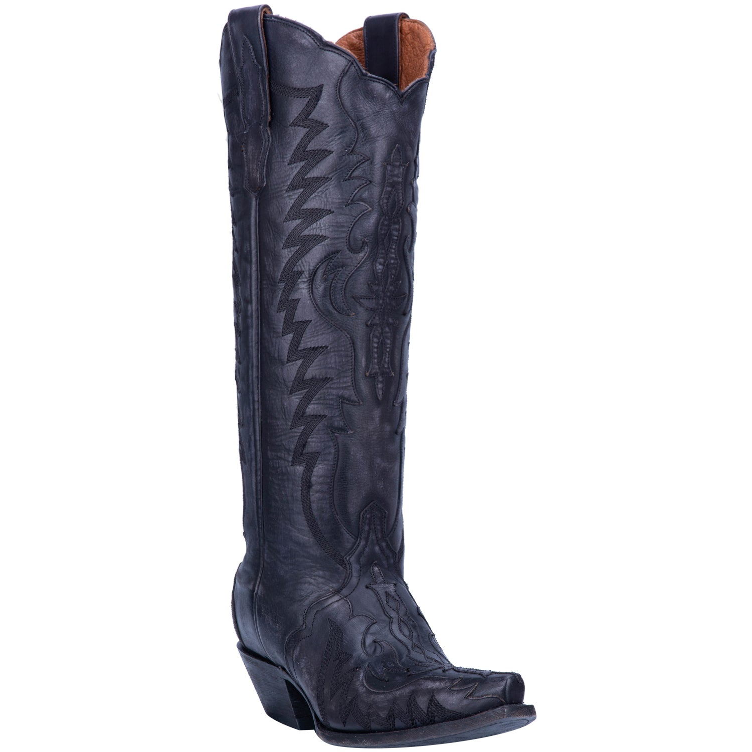 HALLIE LEATHER BOOT 5391877734442