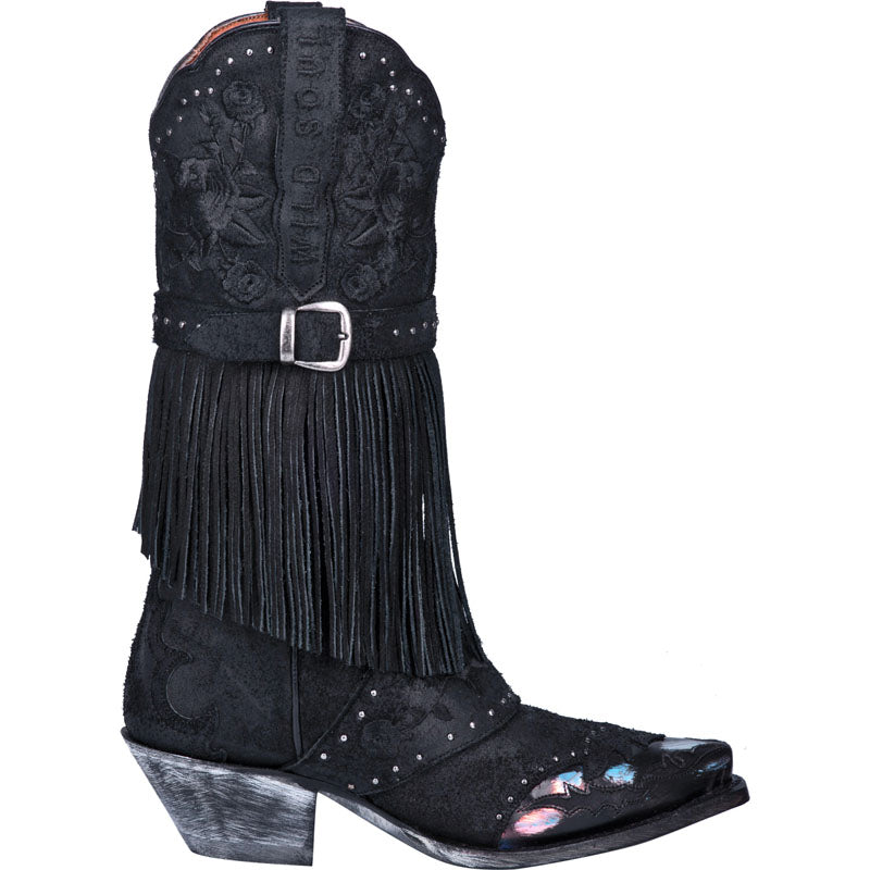 BED OF ROSES LEATHER BOOT