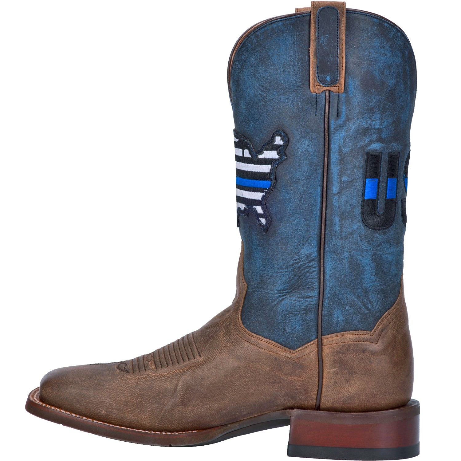 THIN BLUE LINE LEATHER BOOT 4197236146218