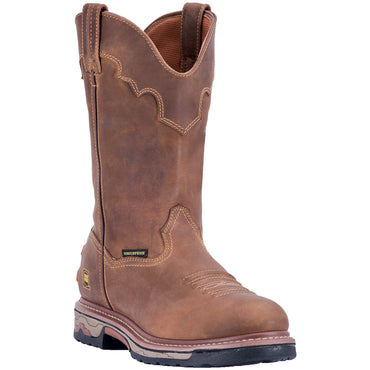 JOURNEYMAN COMPOSITE TOE LEATHER BOOT - Dan Post Boots