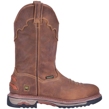 JOURNEYMAN COMPOSITE TOE LEATHER BOOT - Dan Post Steel Toe Boots