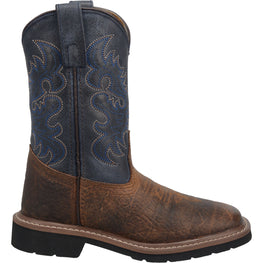 Angle 2, BRANTLEY LEATHER YOUTH BOOT