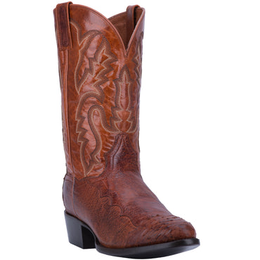 PUGH SMOOTH OSTRICH BOOT - Dan Post Boots