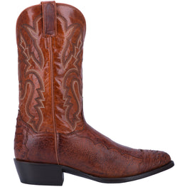 Angle 2, PUGH SMOOTH OSTRICH BOOT