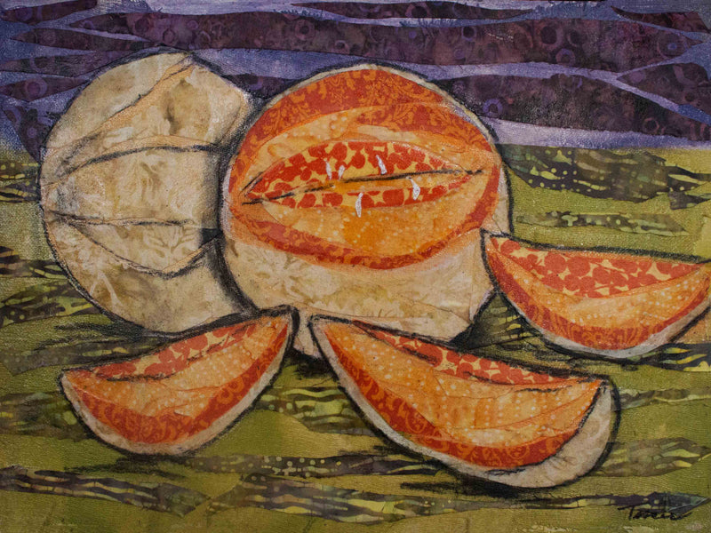 Cantaloupes on Gallery Wrap Canvas