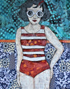 Cool Pool Girl - Original
